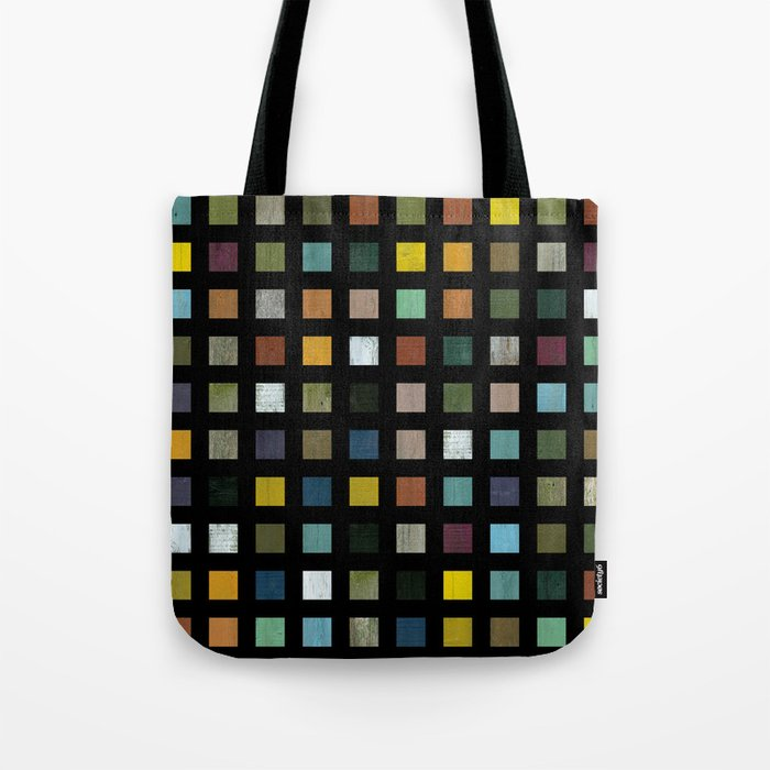 Rustic Wooden Abstract lV Tote Bag