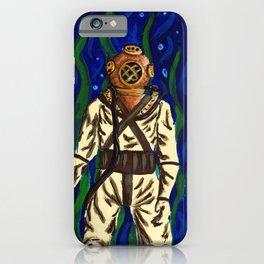 Diving Suit iPhone Case