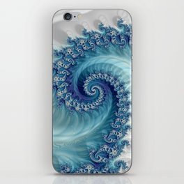 Sound of Seashell - Fractal Art iPhone Skin