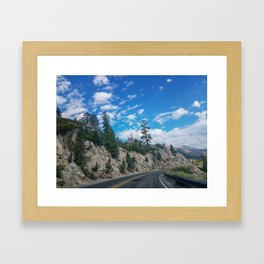 Country Road - California Framed Art Print