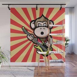 Ape Guitar Wall Mural