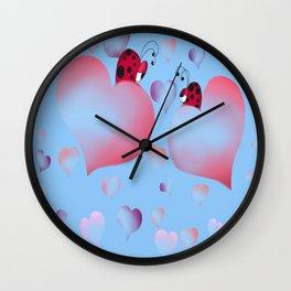 So In Love Wall Clock