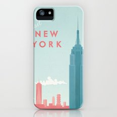 New York New York iPhone (5, 5s) Slim Case