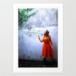 Le Danse De Fée -2-  Art Print