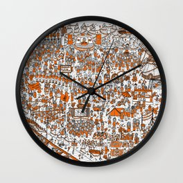 Where's Willem? Wall Clock