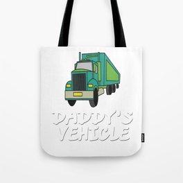 Trucker Truck driver 1 Highway drive Transport driver LKW Funny Tshirt Tote Bag