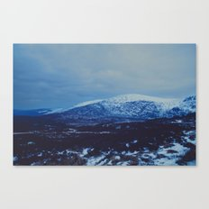 Wicklow in the Snow Canvas Print