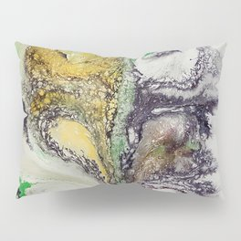 The rivers, acrylic on canvas Pillow Sham