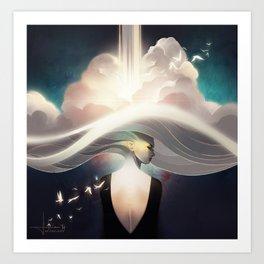 Cloudbreaker Art Print