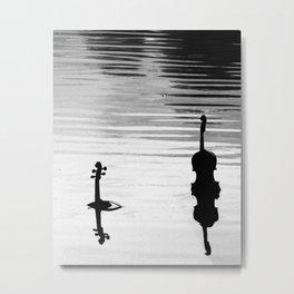 Submerged Strings Metal Print