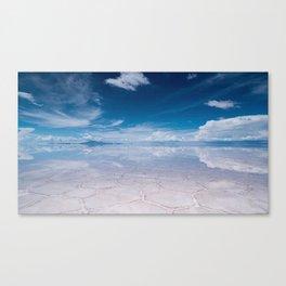 Salt Flats of Salar de Uyuni, Bolivia #1 Canvas Print