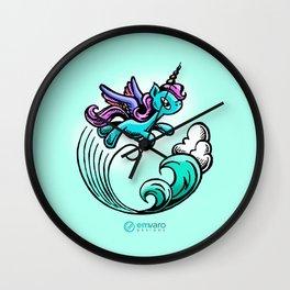 Kyrie the Unicorn Wall Clock