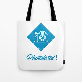 Photodicted! Tote Bag