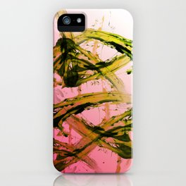 Kiwi Chaos iPhone Case