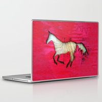 horse Laptop & iPad Skins featuring Horse by Brontosaurus