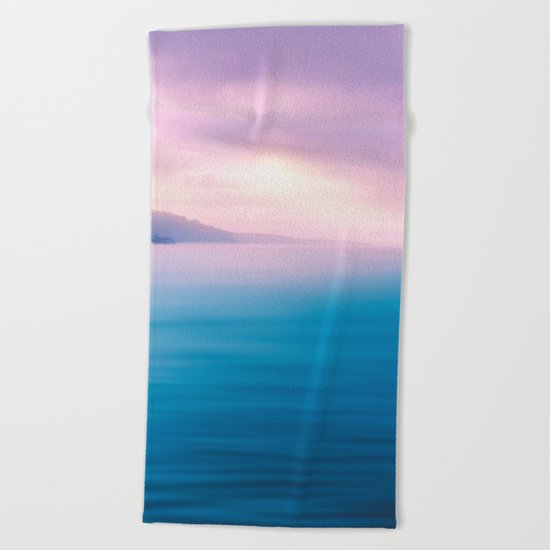 Sea - Pastel Beach Towel
