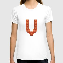 """Letter """"V"""" print in beautiful design Fashion Modern Style T-shirt"""