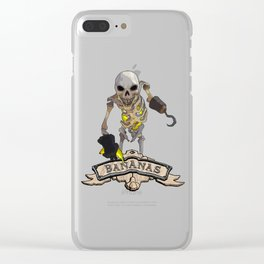 Sea Skelly Banana Thief Clear iPhone Case