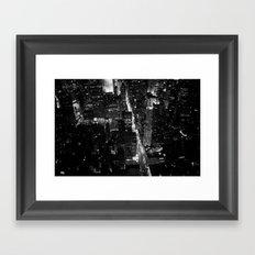 Manhattan Framed Art Print