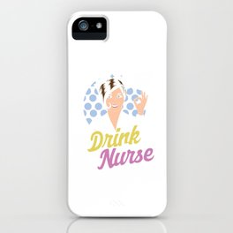 Safety First Nurses CNA Medical Health Check Cardio Physician Medic Hospital Gift iPhone Case