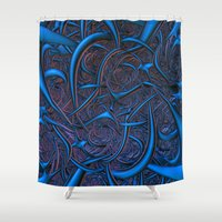 nightmare Shower Curtains featuring Nightmare by Lyle Hatch