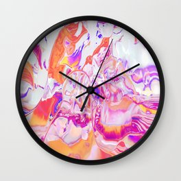 Candy Marble Wall Clock