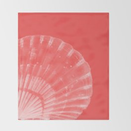 Scallop Shell Throw Blanket