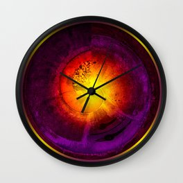 The Age of Fire Wall Clock