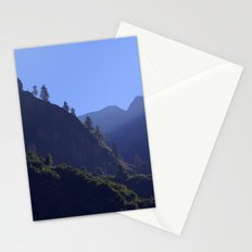 Pines in the Morning Light near Dharapani Stationery Cards