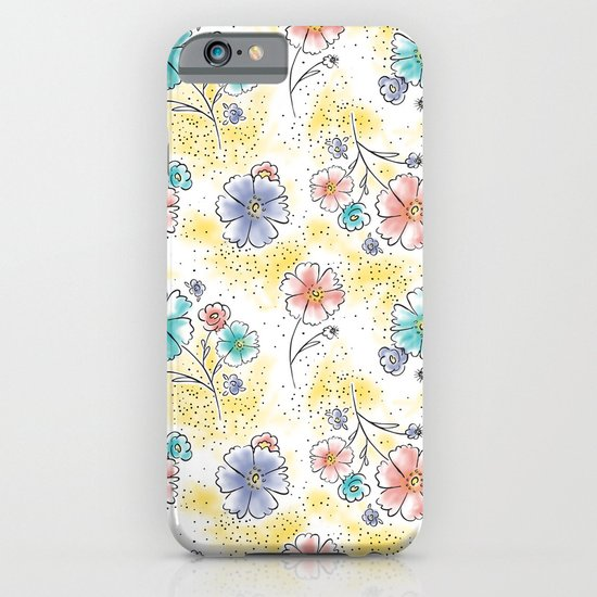 Brilliant Blooms iPhone & iPod Case