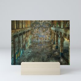 Apocalyptic Vision of the Sistine Chapel Rome 2020 Mini Art Print