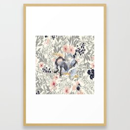 teen mitsuki Framed Art Print
