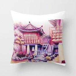 Teahouse Throw Pillow