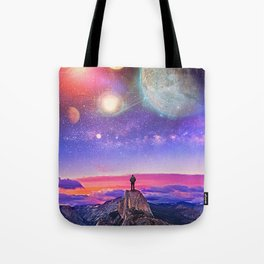 Whatever's Out There Tote Bag