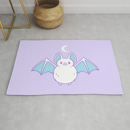 Cute Pastel Bat Rug