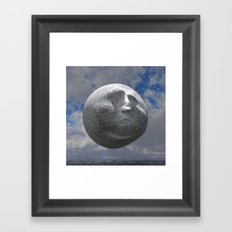 Sneer Sphere Framed Art Print