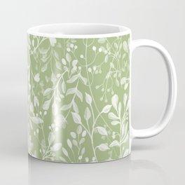 Forever Spring Pattern   Warm Spring Green Coffee Mug