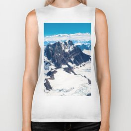 Snowy Mountains Biker Tank