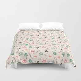 Forest love Duvet Cover