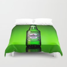 Ice cold Heineken Duvet Cover
