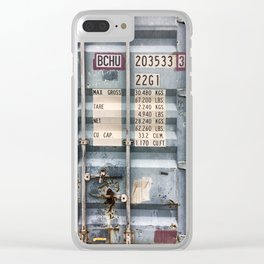 Cargo container Clear iPhone Case