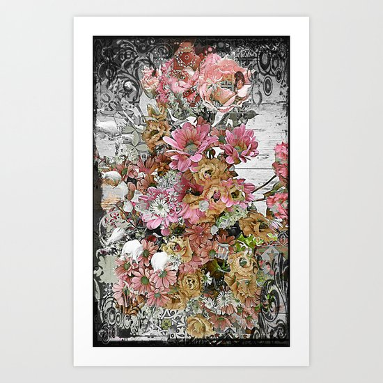 Chic, Pink and Pretty Art Print