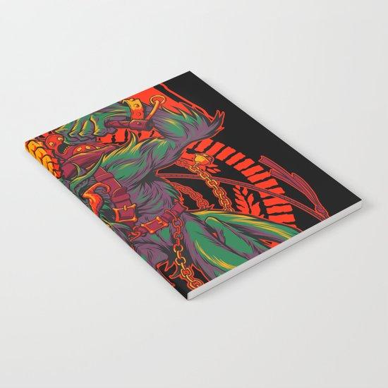 KREEPING KRAMPUS Notebook