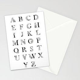 Octopus Alphabet Stationery Cards