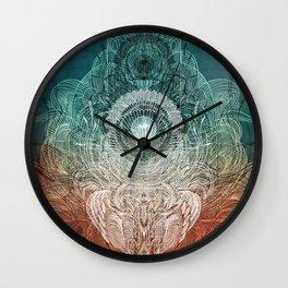 Watching Over You Wall Clock