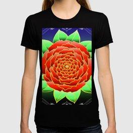 Mandala de la Rosa T-shirt