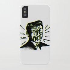 Typeface iPhone X Slim Case