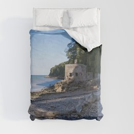 Elberry Cove - Agatha Christie's Favourite Bathing Spot Comforters