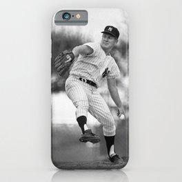 𝓜𝓛𝓑 - HOF - Society6 - Baseball - Edward Charles - Whitey - F O R D - New York - Vintage 22w iPhone Case