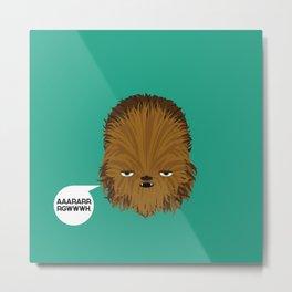 Chewbacca - StarWars Metal Print